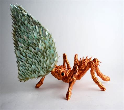 Stunning Sculptures Made From Discarded Cd Fragments by Stunning Sculptures Made From Discarded Cd Fragments