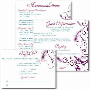 signatures by sarah wedding invitation inserts for pamela With wedding invitation inserts examples