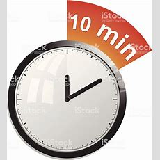 Timer 10 Minutes Stock Vector Art & More Images Of Alarm Clock 166008734 Istock