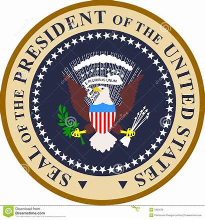 President States United Clipart Seal Presidential Usa