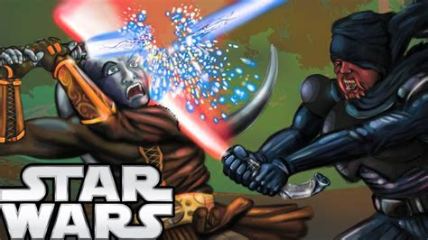 Sith Lightsabers That Break Jedi Blades Legends Star