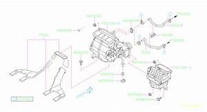 Subaru Forester Hvac Heater Hose  Inner  Inlet   Make