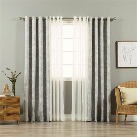 grey    umixm sheer linen   marble curtain