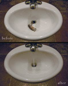 1000 ideas about unclog bathroom sinks on pinterest