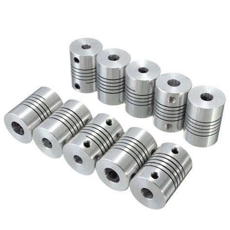 flexible shaft coupling odmmxmm cnc stepper motor coupler connector   mm alexnldcom