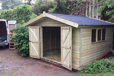 Builders Shed by Sheds Archives Garden Buildings