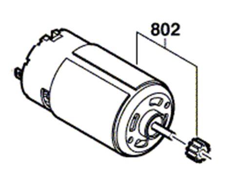 ersatzmotor bosch akkuschrauber bosch ersatz elektromotor nr 2 609 001 957 f 252 r psr 14 4 li 2