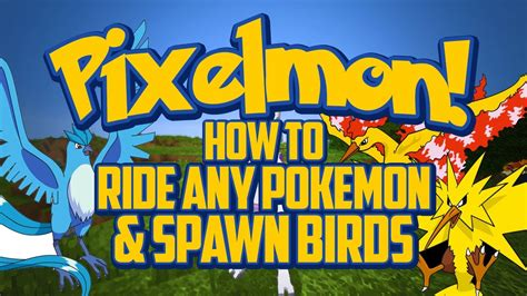How To Ride Any Pokemon & Spawn The