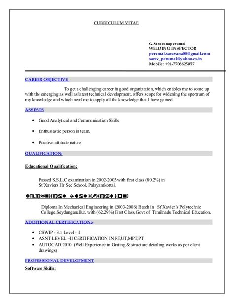 Ndt Qc Inspector Resume by Sle Resume Resume Ndt Inspector Pic Mfacourses476 Web Fc2