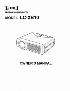 Lc-xb10 Manuals