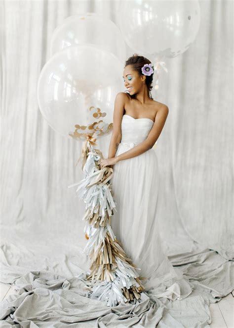 romantic  feminine bridal inspiration grey wedding dress