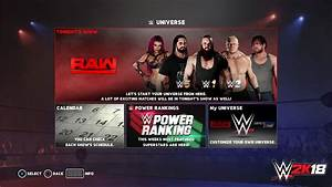 New Details Revealed about WWE 2K18's Road to Glory and ...