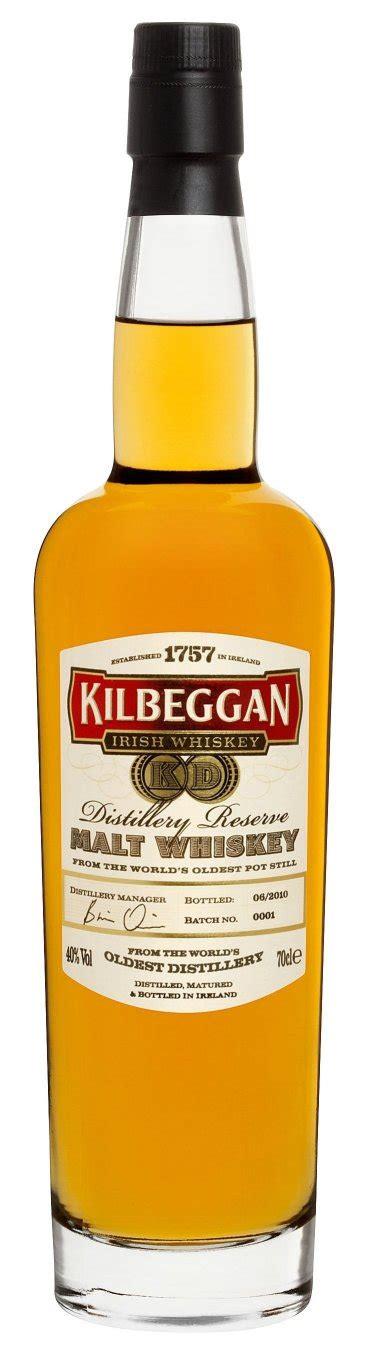 Kilbeggan Launches New Irish Single Malt Whiskey