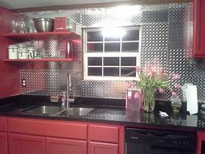 25 best ideas about backsplash panels on pinterest faux With kitchen cabinets lowes with sheet metal wall art