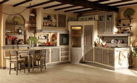 Italienische Küche, Landhausstil Und