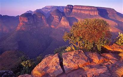 Africa South Canyon Wallpapers Desktop Nature Blyde