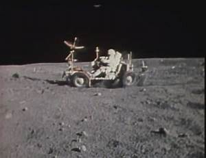 Moon Land Rover - Pics about space