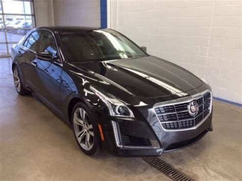 Sell Used 2014 Cadillac Cts 3.6l Twin Turbo Vsport Premium