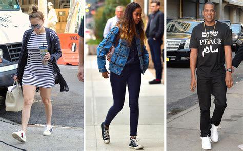 sneakers celebrities love  wear    travel