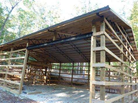 pole barn built  store  rv ncx