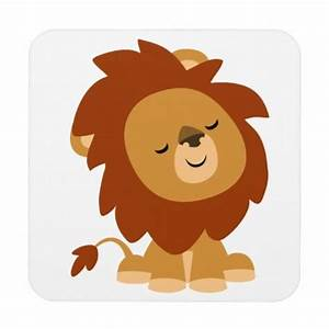Cute Cartoon Lions Cute peaceful cartoon lion | LEÕES ...