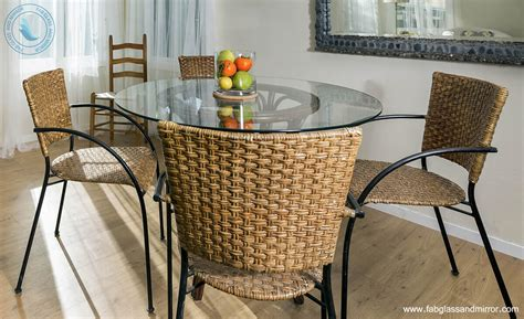 Add Grace in Wooden Furniture with Glass Top  FAB Glass