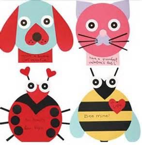 Valentine Animal Crafts