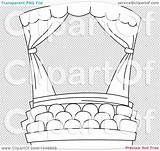 Theater Coloring Outline Clip Illustration Royalty Transparent Rf Quick Bnp Studio Background sketch template