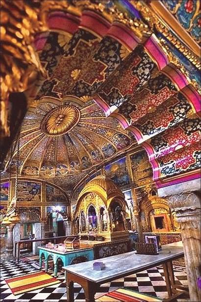 Delhi India Interior Architecture Indian Digambar Temple