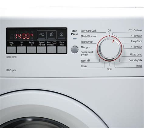 Buy BOSCH WAB28261GB Washing Machine   White   Free