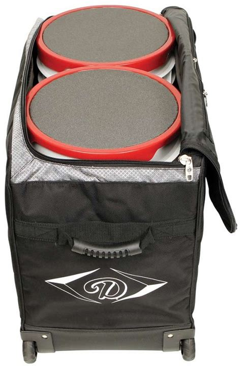 diamond wheeled bucket bag   anthem sports