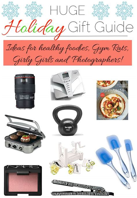 gift guide 2015 food faith fitness