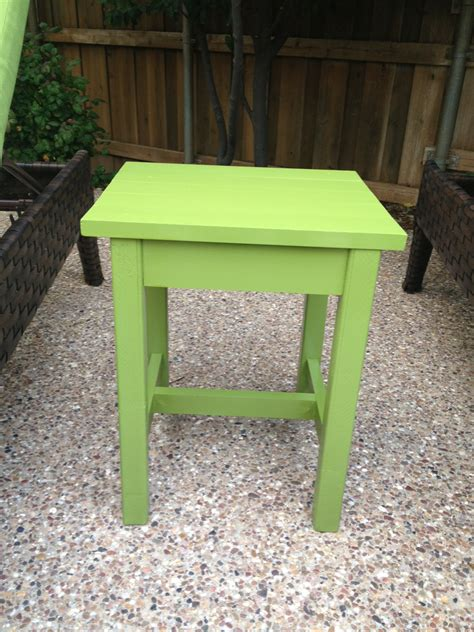 ana white outdoor adirondack side table diy projects