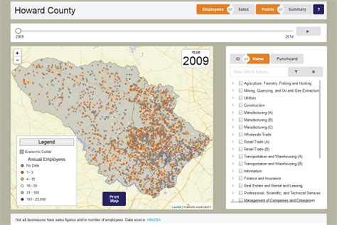 howard county maryland data   viewer