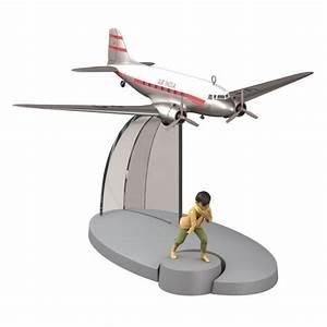 Tintin Figure collection Air India VT-DAO Plane Tintin ...