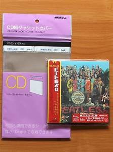 CD 1.6mil Mylar Papersleeve Mini LP Japanese Outer Sleeves ...