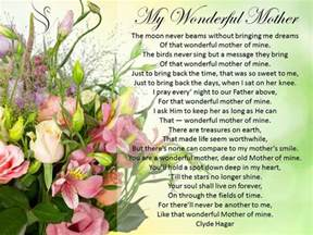 Funeral Poem About Mother