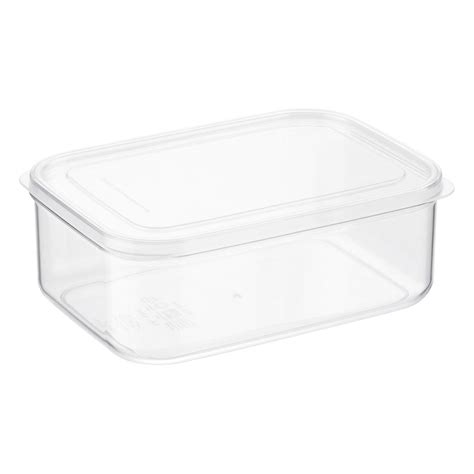 kitchen plastic storage containers with lids clear rectangular food storage the container 9529