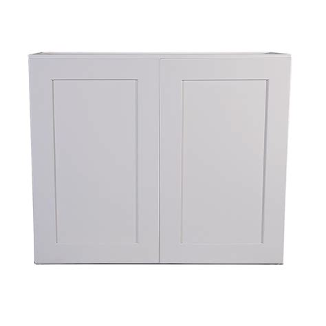white shaker wall cabinets design house brookings 33 in x 12 in x 30 in
