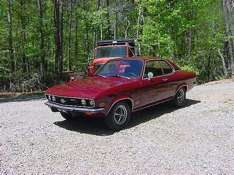 1973 Opel Manta by 1973 Opel Manta Luxe For Sale Dandridge Tennessee