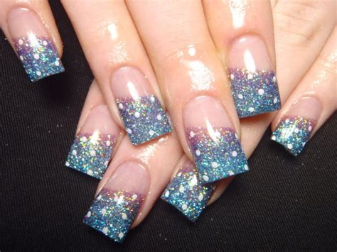 Nail Art With Glitter : 65 Most Beautiful Glitter Nail Art Designs
