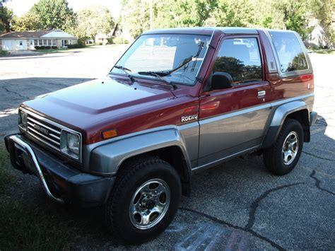 Rocky Daihatsu by 1995 Daihatsu Rocky Photos Informations Articles