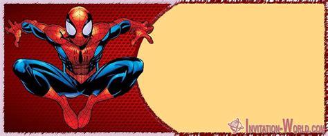 spider man birthday party invitation cards invitation world