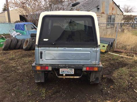 Spokane Suzuki by 1988 Suzuki Samurai W Fiberglass Hardtop For Sale In
