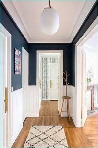 Idee Deco Couloir Peinture : idee deco peinture couloir d co peinture couloir entree trendmetr ~ Melissatoandfro.com Idées de Décoration