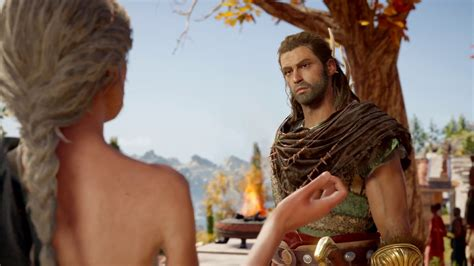 Assassin S Creed Odyssey PL Sex With Old Lady Auxesia Romance Scene With Alexios YouTube