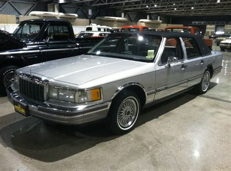 1990 Lincoln Town Car Cartier  T16  Kansas City Spring 2012
