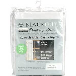 euro premium blackout drapery liner walmart com