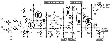 How Build Guitar Amplifier Circuit Diagram