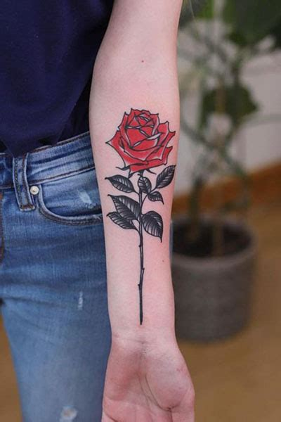 cool rose tattoo ideas  women  trend spotter